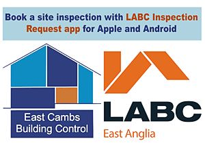 Book a site inspection with LABC Inspections Request App